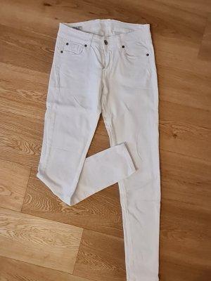 weiße Pepe Jeans Hose