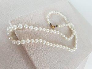 Retro Kette Pearl Necklace oatmeal