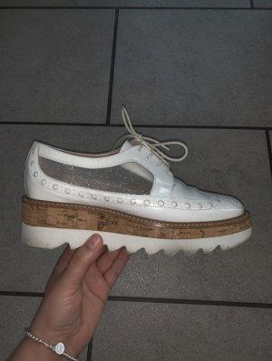 Weiße Pertini Schuhe