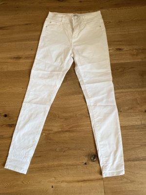 Weiße Pimkie Skinny Jeans