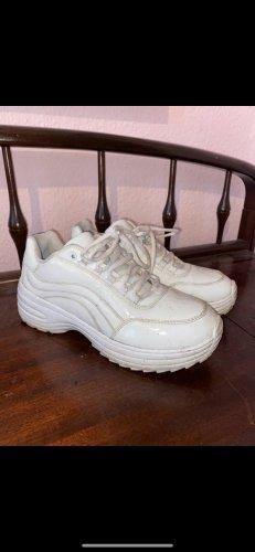 Deichmann Platform Trainers white