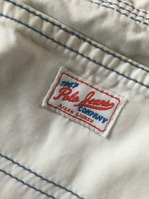 Weiße Polo Jeans Ralph Lauren mit Ziernähten Gr. 27/ LETZTE REDUZIERUNG!