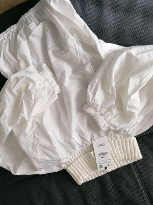 Weiße pullover