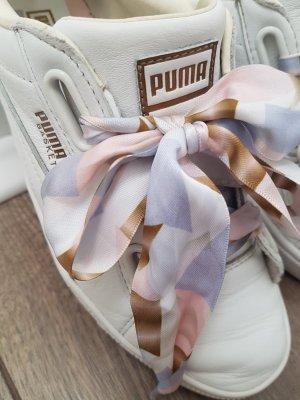 weiße PUMA Basket Sneaker