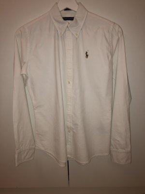 Weiße Ralph Lauren Bluse
