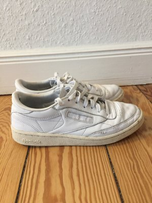 Reebok Zapatos de patinador blanco