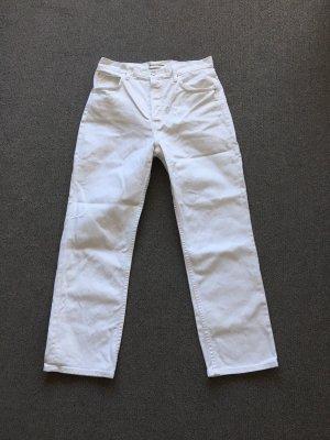 Weiße Reformation Jeans