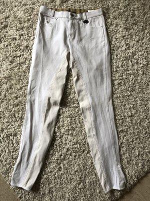 HKM Sports Equipment Pantalon d'équitation blanc-beige clair