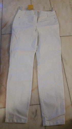 Biba Jeans cigarette blanc