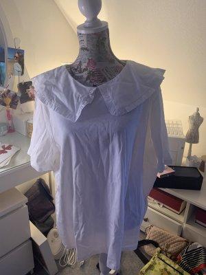 H&M Bluzka z falbankami biały
