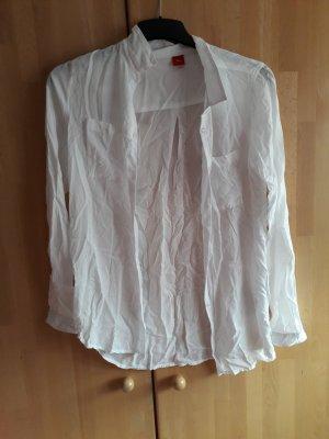 s.Oliver Koszulowa sukienka biały