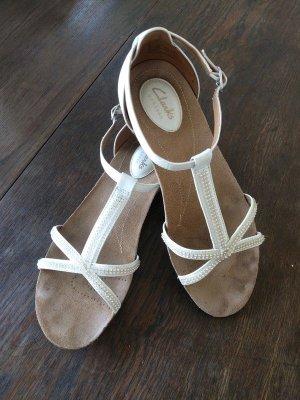weiße Sandalen, Braut Sandalen