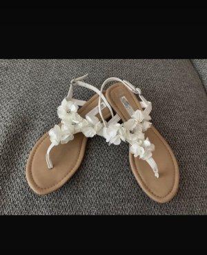 Primark Sandalo toe-post bianco