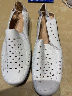 weiße Sandalen Gr. 39 wenig getragen