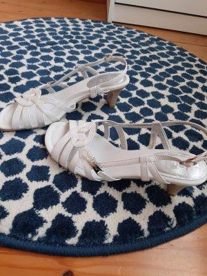 weiße Sandalen Größe 39