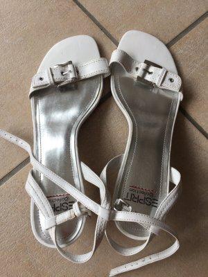 Weiße Sandalen von Esprit