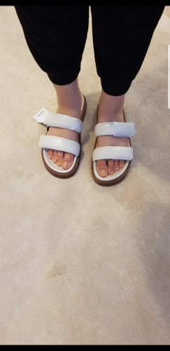 Mango Outdoor sandalen wit
