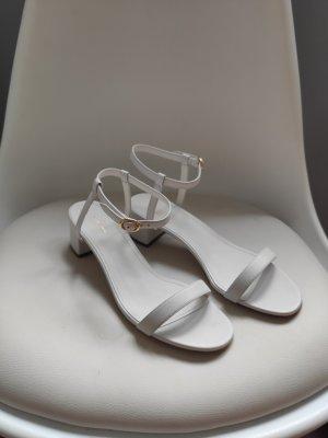 Weiße Sandalen von Mansur Gavriel