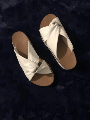 Weiße Sandalen von Paul Green