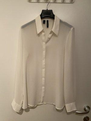 Weiße schicke Bluse