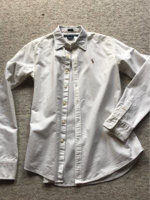 Weiße schicke Bluse Ralph Lauren