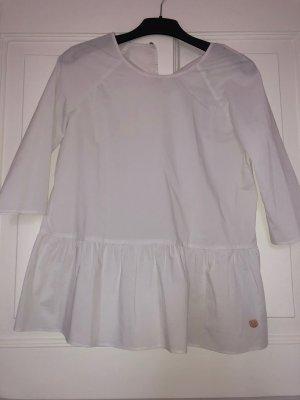 Weiße Schößchen-Bluse von Lieblingsstück in Gr. 34