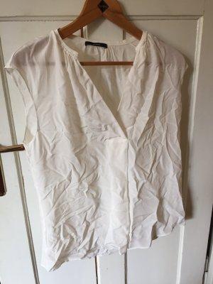 Windsor Short Sleeved Blouse white