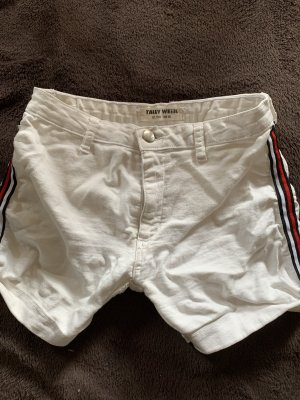 Weiße Shorts 38