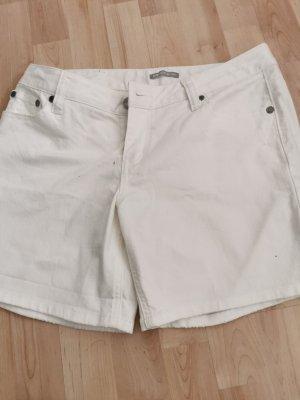 3suisses Pantalón corto de tela vaquera blanco