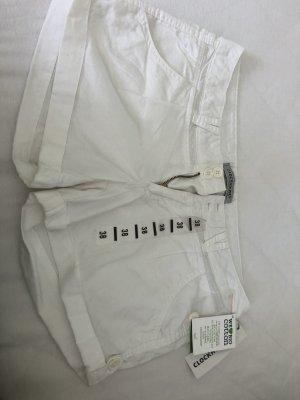 Weisse Shorts