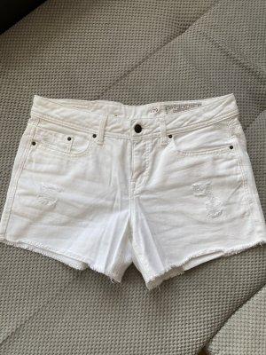Weiße Shorts edc