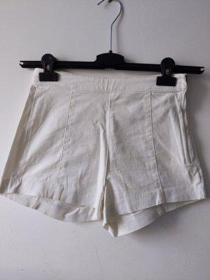 weiße Shorts / Jeansshorts • Größe 36 • H&M