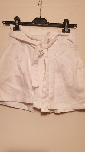 Colloseum Short blanc coton