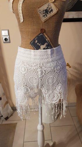 ppt style Shorts blanco