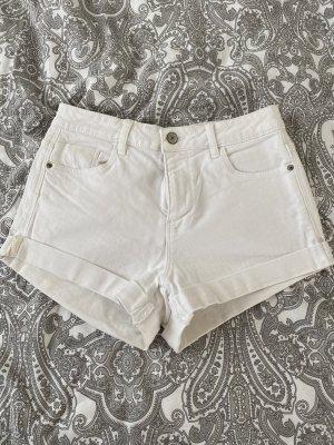 Weiße Shorts von Zara