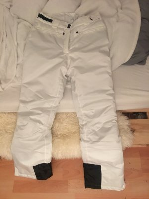 Weiße Skihose
