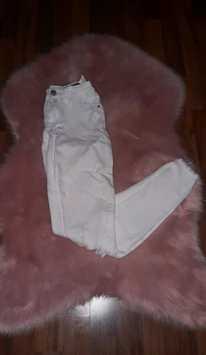 Tally Weijl Drainpipe Trousers white