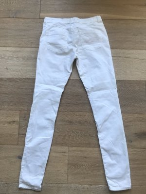 Weiße Skinny Jeans