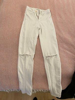 Weiße Skinny Jeans tally weijl