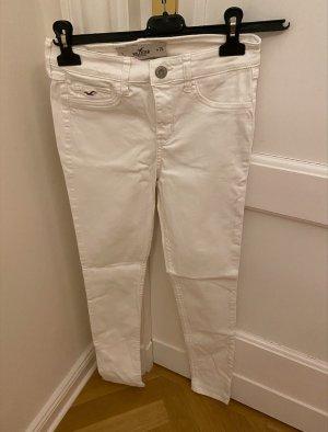 Hollister Pantalon cigarette blanc