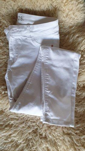 Amisu Skinny jeans wit