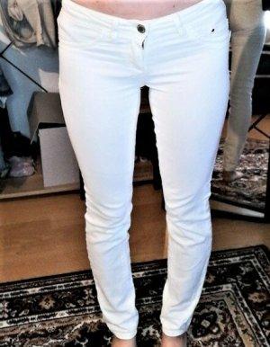 Weiße skinny low waist Jeans Gr. XS/32