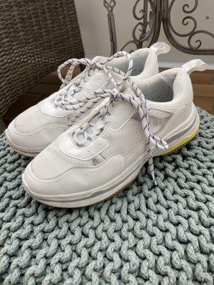 Poelman Basket à lacet blanc
