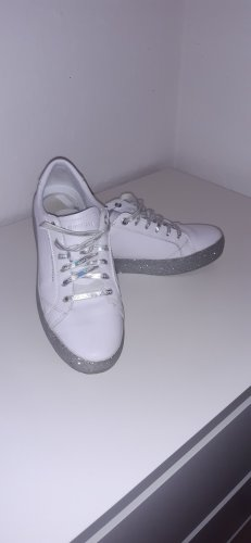 Tommy Hilfiger Lace-Up Sneaker white-silver-colored