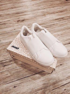 Eksept Sneaker slip-on bianco