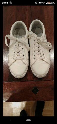 Weiße Sneaker Gr. 40