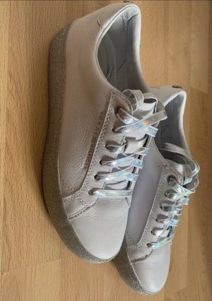 Tommy Hilfiger Sneaker con tacco bianco-argento