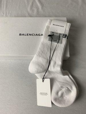 Balenciaga Bas blanc-noir