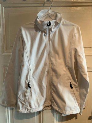 McKinley Softshell Jacket white-black