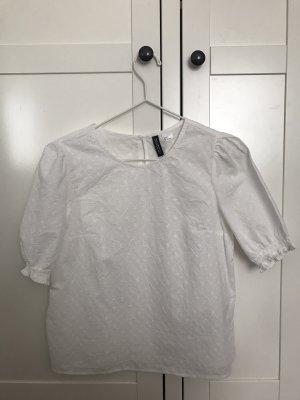 Weiße-Sommer-Bluse